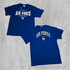 2 Air Force Athletic T-Shirts! NWT